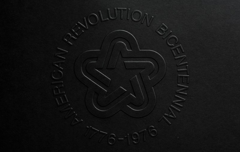 1973 Official Symbol of The American Revolution Bicentennial: Guidelines for Authorized Usage; Official Graphics Standards Manual reproduction book