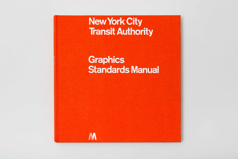 1970 New York City Transit Authority Graphics Standards Manual Compact Edition